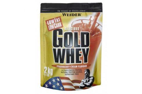 Weider Gold Whey Syrovátkový protein 2 kg - Jahoda Po tréninku