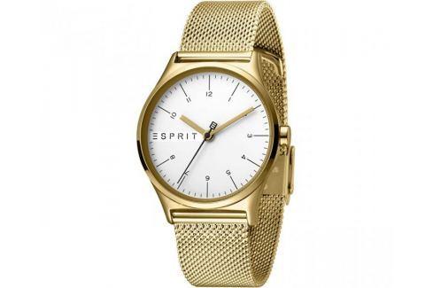 Esprit Essential Silver Gold Mesh ES1L034M0075 Hodinky