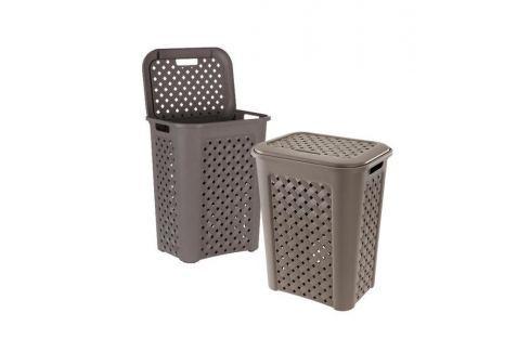 Tontarelli Koš na špinavé prádlo ARIANNA 30 L (8105451/909) Koše na prádlo