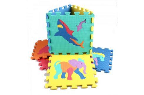 Alltoys Pěnnová podložka zvířátka 10ks Puzzle