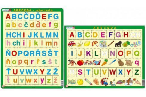 LARSEN Česká ABECEDA s obrázky puzzle set MAXI Didaktické hračky
