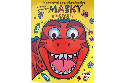 Dinosauři - Karnevalové škrabošky Masky Naučná literatura do 10 let