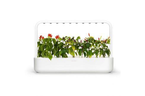 Click and Grow chytrý květináč pro pěstování bylinek, zeleniny, květin a stromů - Smart Garden 9, bílá SMART domácnost