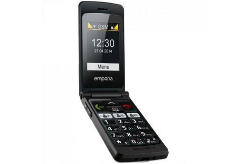 Emporia FLIP basic, černý Mobilní telefony
