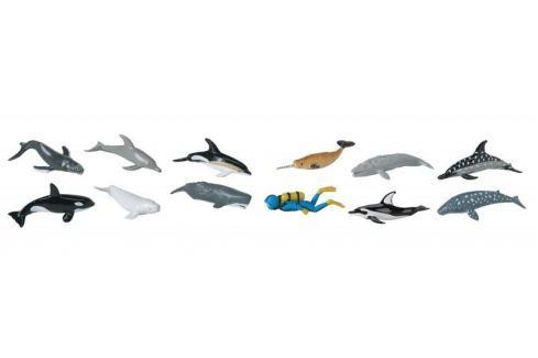 Safari Ltd. Tuba - Velryby a delfíni Figurky zvířat
