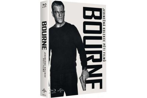 Kolekce Bourne (5 BD + DVD bonus disk)   - Blu-ray Akční
