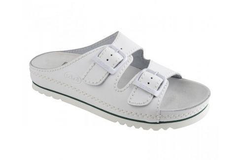 Scholl Zdravotní obuv AIR BAG Nublied-U - bílá (Velikost vel. 41) Zdravotní obuv