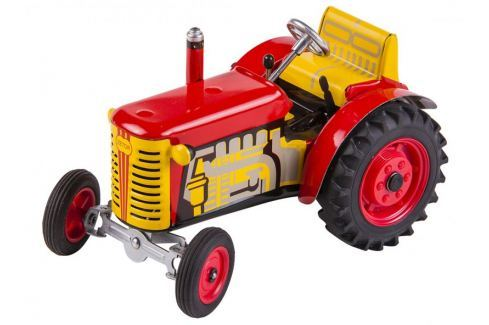 KOVAP Traktor Zetor červený Auta
