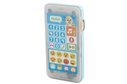 Fisher-Price Emoji chytrý telefon CZ Hudební, zvukové