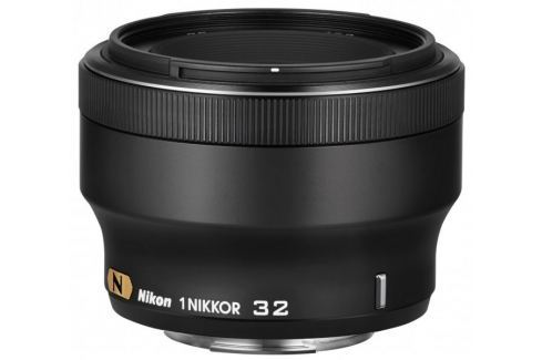 Nikon NIKKOR 32 mm f/1,2 Black Objektivy pro bezzrcadlovky