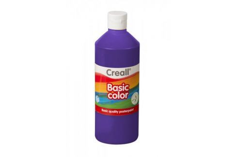 Barva temperová 0,5 l fialová Barvy, štětce