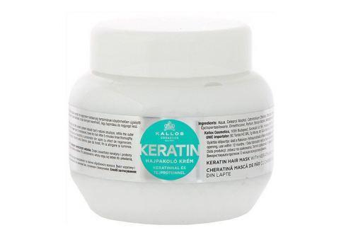 Kallos Regenerační maska na vlasy s keratinem a mléčnými proteiny (Keratin Hair Mask) (Objem 1000 ml) Masky na vlasy