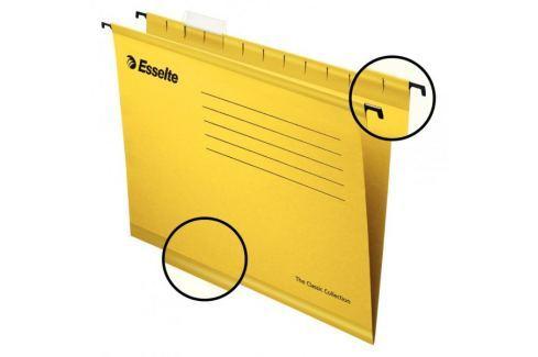 Závěsné desky STANDARD žluté Závěsné desky