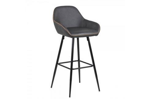 Design Scandinavia Barová židle Disca (SET2 ks), holubičí šedá Barové židle