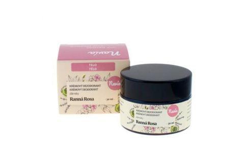 Navia Dámský krémový deodorant Ranní rosa BIO (30 ml) Krémové deodoranty
