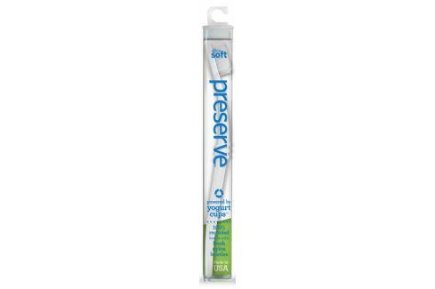 Preserve Zubní kartáček (ultra soft) - bílý Z bioplastu a recyklovaného plastu