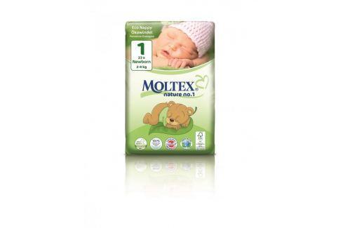 Moltex Ekoplenky pro novorozence 1 (2 - 4 kg) (23 ks) Jednorázové rozložitelné ekoplenky