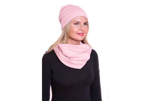 Meera Design Šmrncovní čepice Lilith - růžová Udržitelná móda od Meera Design