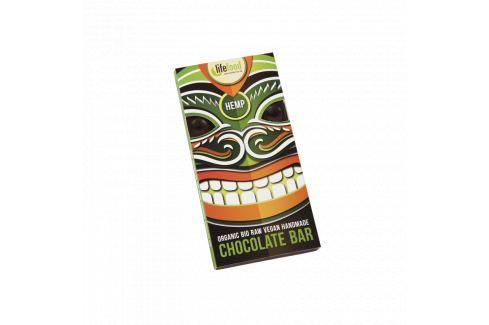 Lifefood Čokoláda s konopným semínkem RAW & BIO (70 g) Čokolády