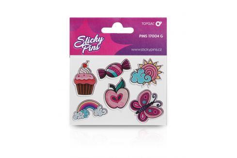 Sticky Pins Topgal PINS 17004 G Samolepící odznáčky