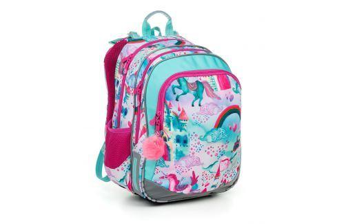 Školní batoh Topgal ELLY 19004 G Školní batohy pro prvňáčky