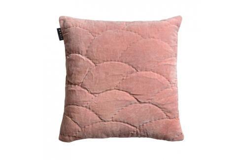 Povlak na polštář 50x50 cm LINUM Sienna - starorůžový Povlaky na polštáře