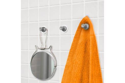 Sada 3 šedých magnetických háčků Reenbergs Multiple Vybavení koupelny