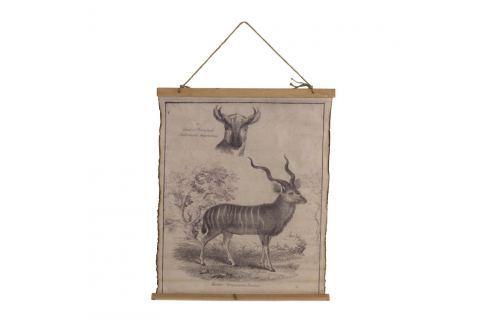 Plakát na bavlněném plátně Geese Antilope Obrazy, rámy atabule
