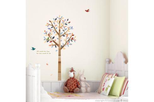 Samolepka Ambiance Tree and birds Tapety análepky