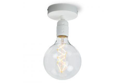 Bílé stropní svítidlo Bulb Attack Uno Basic Nástěnná a stropní svítidla